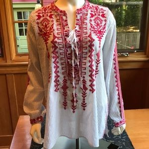 Johnny Was Summer Tunic - Size M